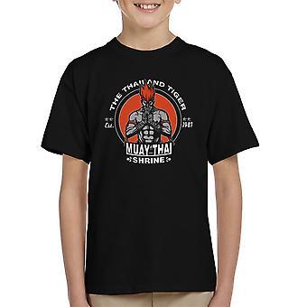 The Thailand Tiger Adon Street Fighter Kid's T-Shirt