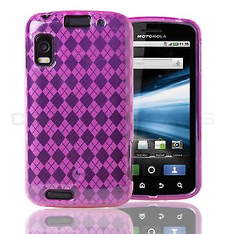 TPU Case for Motorola Atrix 4G MB860 - Pink