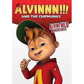 Alvinnn & Chipmunks: Alvins ville eventyr [DVD] USA import