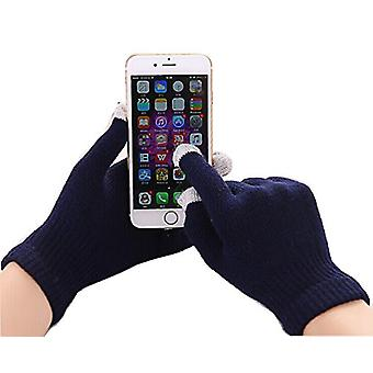 (Navy Blue) Unisex One Size Winter Touchscreen Handschuhe für Sony Xperia L1