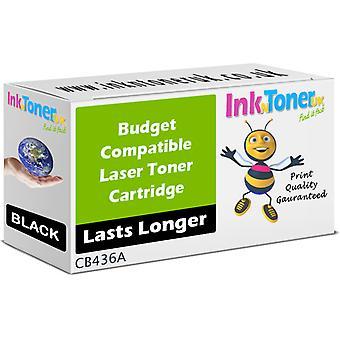 Kompatible Hp 36a svart tonerkassett (cb436a)