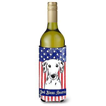 Dalmatian Wine Bottle beverage Insulator Hugger