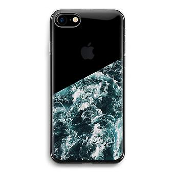 iPhone 7 transparentes Gehäuse (Soft) - Ocean Wave