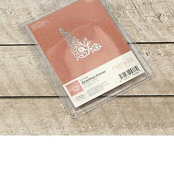 Couture Creations Ultimate Crafts Hotfoil Stamp Acanthus Corner**^