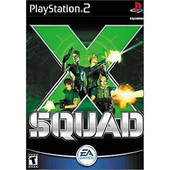 X Squad-fabriken förseglad