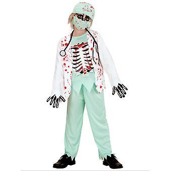 Zombie Doctor barn kostume