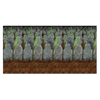 Toile de fond du cimetière