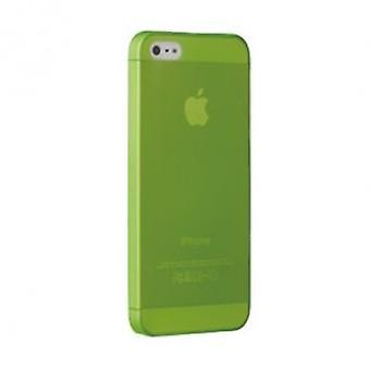 Ozaki OC533GN O! Coat jelly cover case iPhone SE 5 / 5S Green