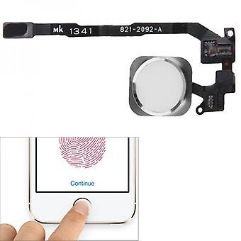 PER Apple iPhone 5 sec pulsante Home + Flex cavo bianco