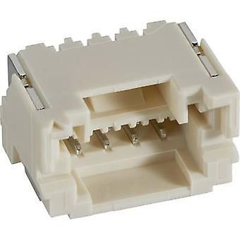JST Pin låda - PCB ZE totala antalet stift 6 SM06B-ZESS-TB (LF)(SN) 1 dator