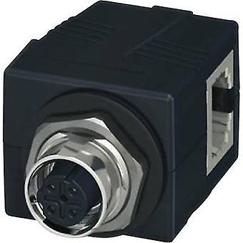 Phoenix Contact 1414397 anturin/toimilaitteen liitäntä valikkonäytön läpivienti nro Pins (RJ): 4 1 PCs()