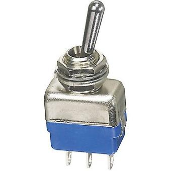 APEM 11137A Toggle heilahdus 250 V AC 2 A 1 x (On)/Off/(On) hetkellinen/0/hetkellinen 1 PCs()
