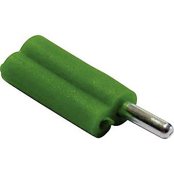 Schnepp F 2020 Banana plug Plug, straight Pin diameter: 2 mm Green 1 pc(s)