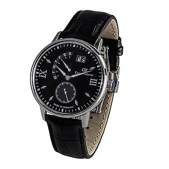 Carl of Zeyten men's watch wristwatch quartz smooth CVZ0059BK