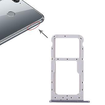 Dla Huawei honor 9 Lite karty Halter wymiana karty SIM taca slajdów szary uchwyt nowe