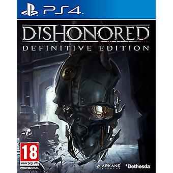 Dishonored The Definitive Edition (PS4) - New