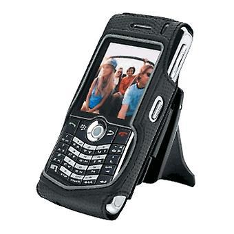 Kroppen handske fallet för Blackberry Pearl 8130, 8120, 8110 - svart