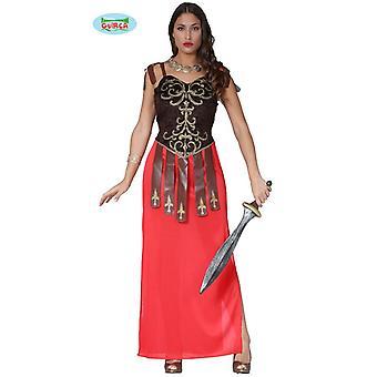 Traje de luchador de Gladiador romano antiguo damas una talla