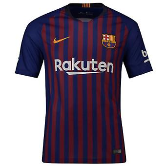 2018-2019 Barcelona Vapor Match Home Nike Shirt