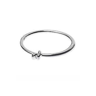 Zilveren, magnetische armband