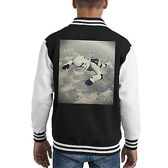 Varsity Jacket di Stormtrooper Skydiving Kid originale