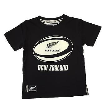 New Zealand All Blacks Rugby Kids Ball T-shirt