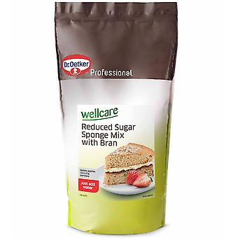 Dr Oetker Wellcare Reduced Sugar Sponge Mix With Bran