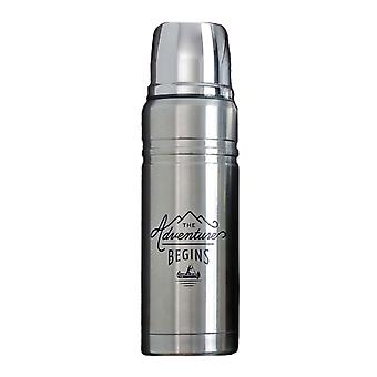 Gentlemen's Hardware Flask Stainless Steel (500mL)