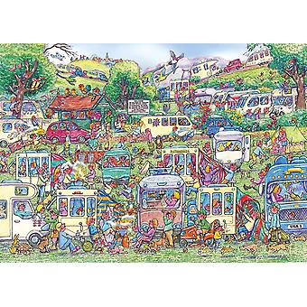 Gibsons caravane Chaos Jigsaw Puzzle (1000 pièces)