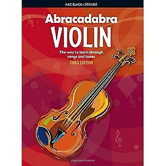 Abracadabra skrzypce: Książka ucznia: sposób na naukę poprzez piosenki i melodie (Abracadabra ciągów)