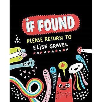 Wenn gefunden... Bitte senden Sie an Elise Gravel