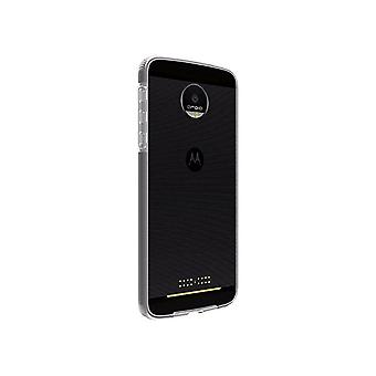 5 Pack -Verizon Two-Tone Silicone Case for Motorola Moto Z Droid - Clear