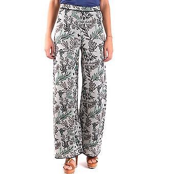 Missoni Ezbc091012 Women's Grey Cotton Pants