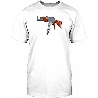 AK47 Ord sky AKAKAK - Cool våben børn T Shirt