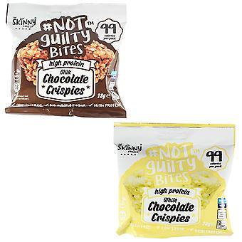 Skinny Foods Not Guilty Bites Mixed Flavours 23g x 3 Pack