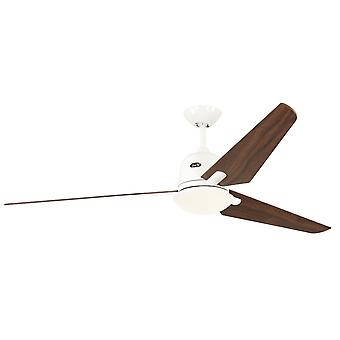 "DC Ceiling Fan Eco Aviatos 162cm / 64"" WE Blades Walnut"