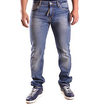 Frankie Morello Ezbc167010 Men's Blue Denim Jeans