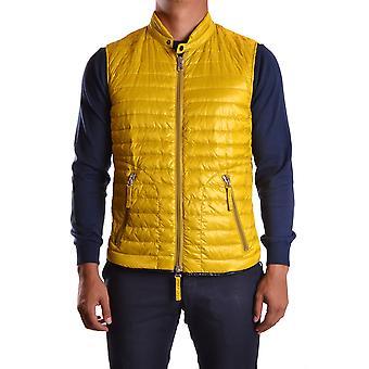Duvetica Ezbc181003 Men's Yellow Nylon Vest