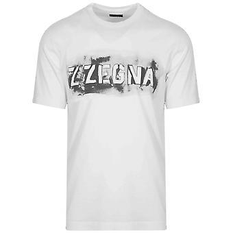Z Zegna White Logo T-Shirt