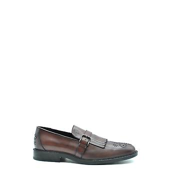 Tod's Ezbc025062 Men's Brown Leather Loafers