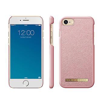iDeal de Suecia iPhone 8/7/6/SE Saffiano Skal - Rosa