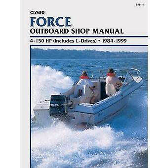Force Outboard Shop Manual - 4-150 HP (includes L-drives) - 1984-1999