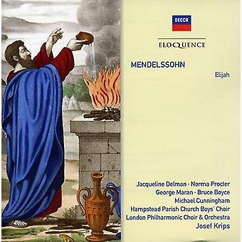 Josef Krips - Mendelssohn: Elijah [CD] USA import