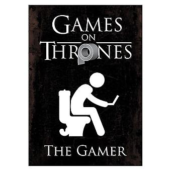 Grindstore Games On Thrones The Gamer Mini Poster