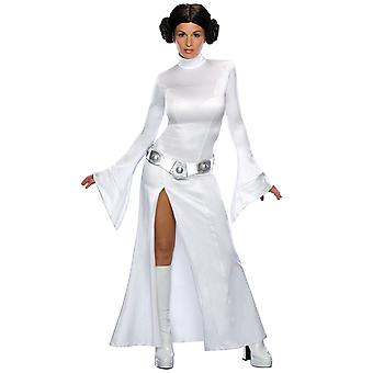 Princess Leia Star Wars Disney Sexy Licensed Women Costume with Wig