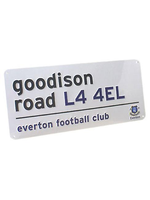 Everton FC Goodison Road Street Sign