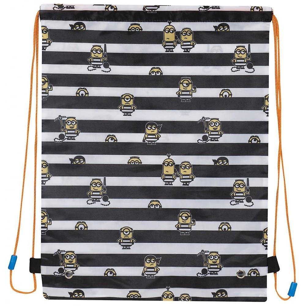 Minions Drawstring Trainer Bag