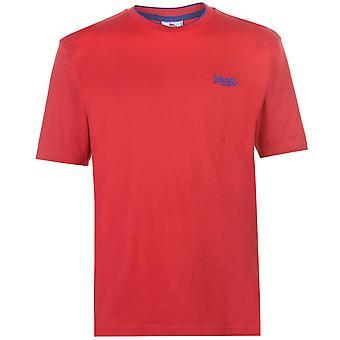 Lonsdale mens tippade tee Top T-shirt T shirt Kortärmad Crew Neck