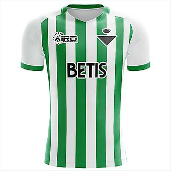 2019-2020 Real Betis Concept Training Shirt (Green-White) - Adult Long Sleeve