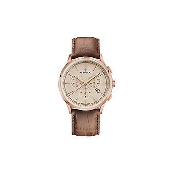 Edox Men's Watch 10236 37RC BEIR Chronographs